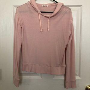 Garage pink sweatshirt pullover hoodie